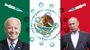 La guerra de las vacunas entre EEUU y Rusia se fija en México.