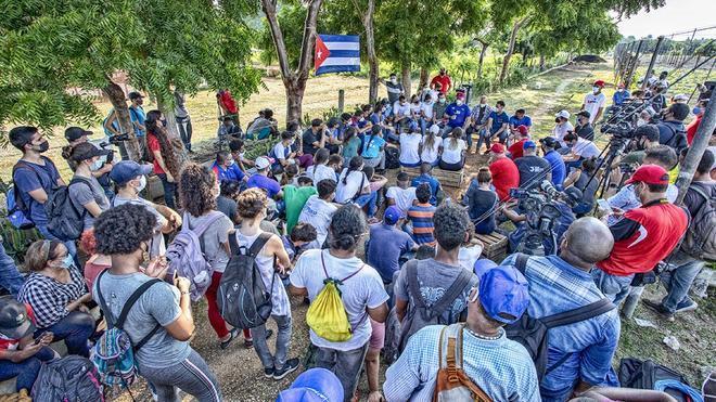 Cuba festejó con extrema austeridad el Día de la Rebeldía Nacional