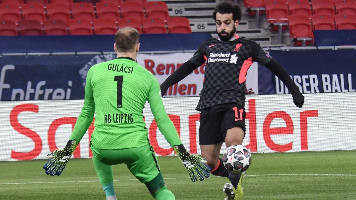 El Liverpool doblega el Leipzig i acaricia els quarts