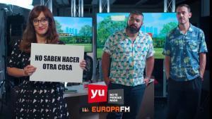 Ana Morgade y Pantomima Full, nuevos copresentadores de 'Yu: no te pierdas nada'.