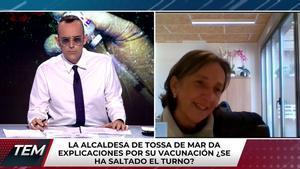 """Risto, indignado ante la alcaldesa de Tossa de Mar, orgullosa tras vacunarse: """"Una vergüenza para la política"""""""