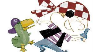 Ilustración de 'A l'atac', de Agustín Comotto.