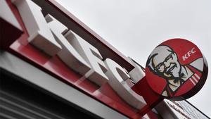 Restaurante de KFC cerrado en Londres.