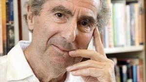 Philip Roth, en Nueva York, en el 2008.