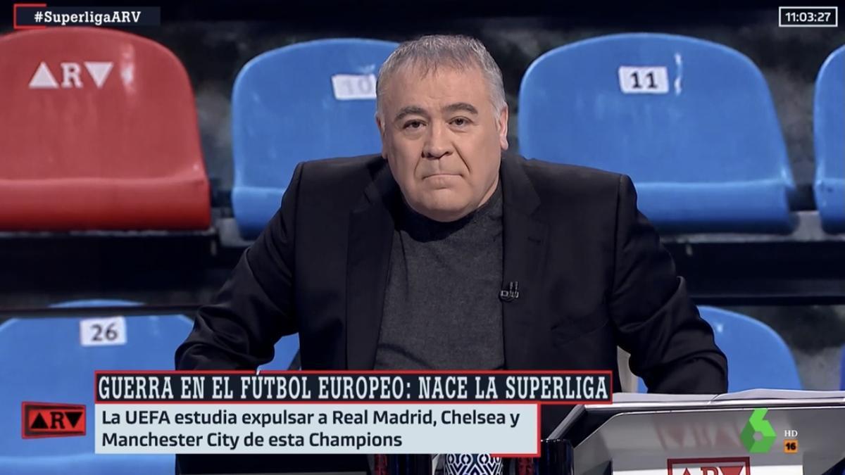 """Ferreras carga contra la UEFA y la FIFA por la Superliga: """"No pueden hablar de la pureza del fútbol"""""""