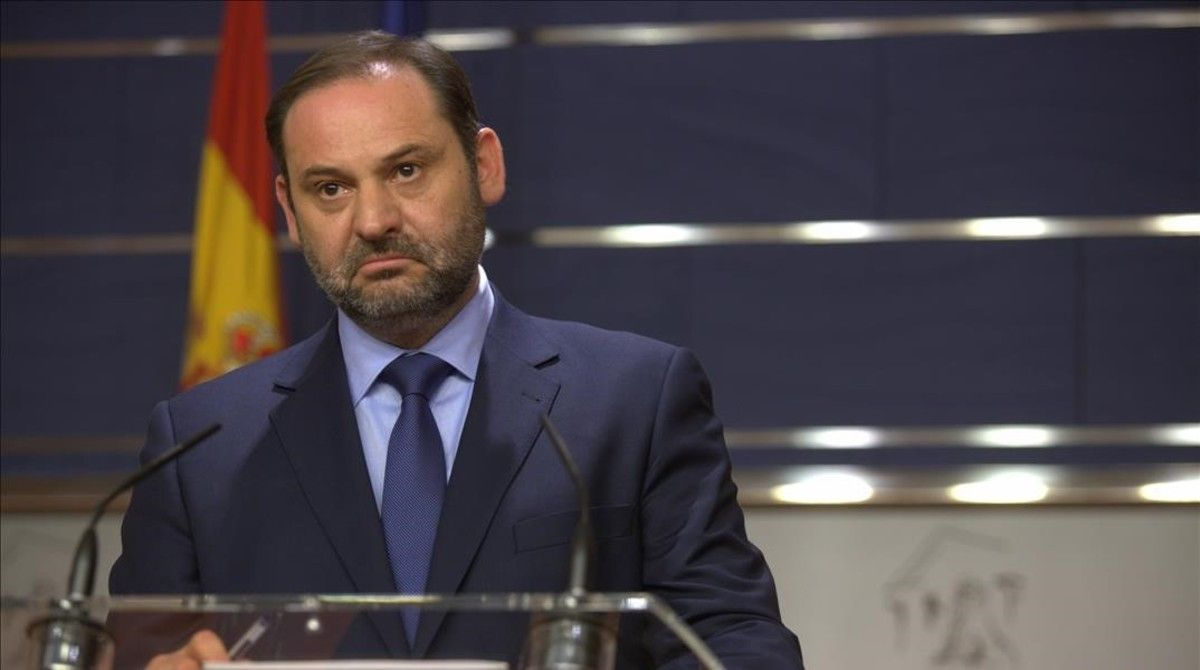 El secretario de Organización del PSOE, José Luis Ábalos, el pasado 27 de junio en el Congreso.