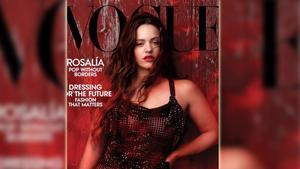 Rosalía, fotografiada por Annie Leibovitz, en la portada norteamericana del 'Vogue'.