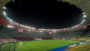El estadio de Maracaná.