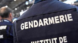 Miembro de la policía francesa.