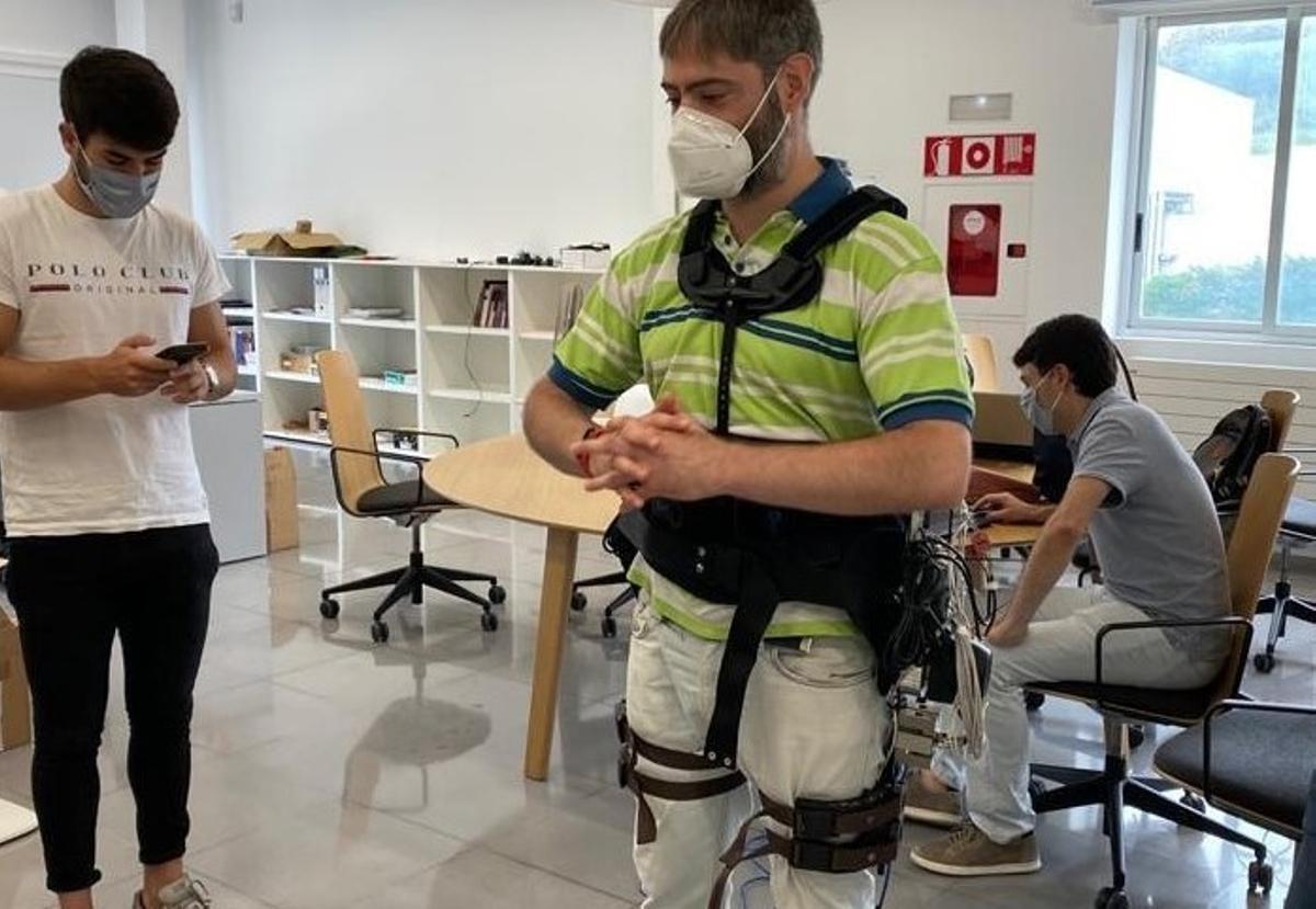 Exoesqueleto de Gogoa Mobility