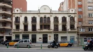 Parroquia Sant Isidor de Barcelona en la calle del Comte d Urgell176