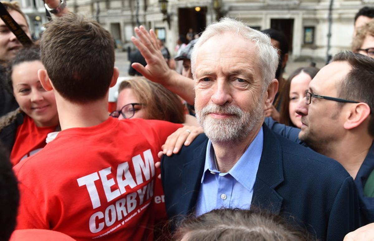 Jeremy Corbyn, el nuevo líder de los laboristas británicos.