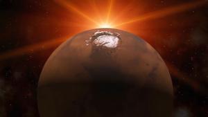 Marte puede conservar una cámara de magma que propicia agua líquida.