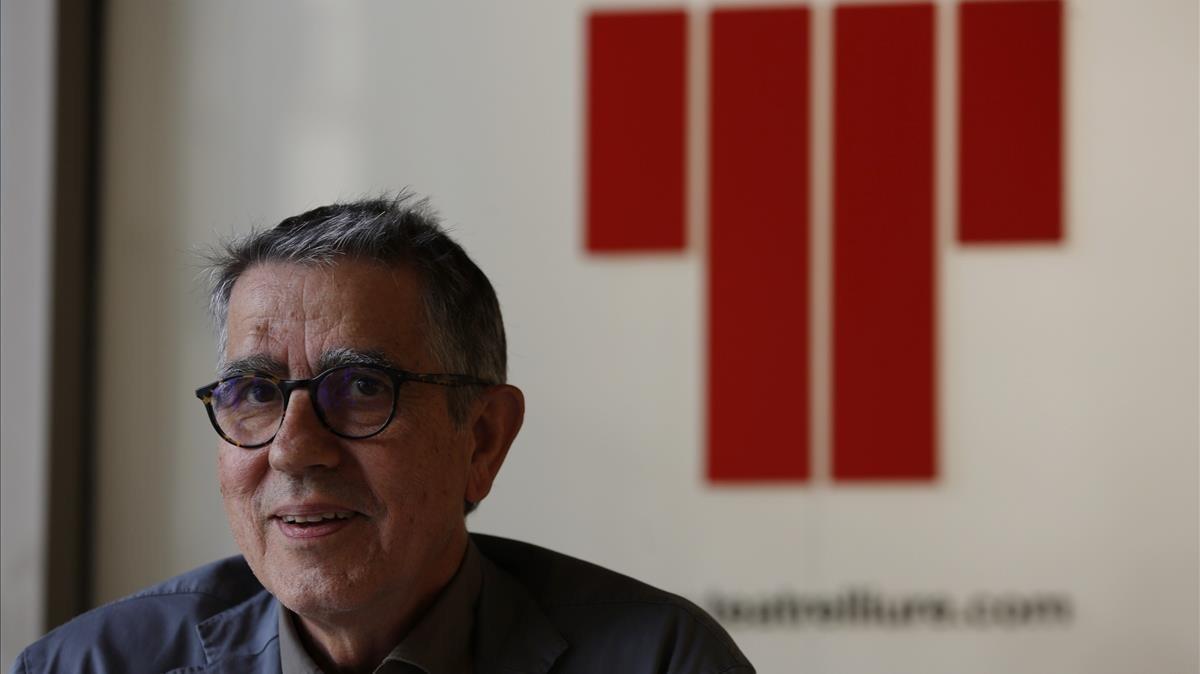 Ramon Gomis, el presidente del patronato del Lliure.