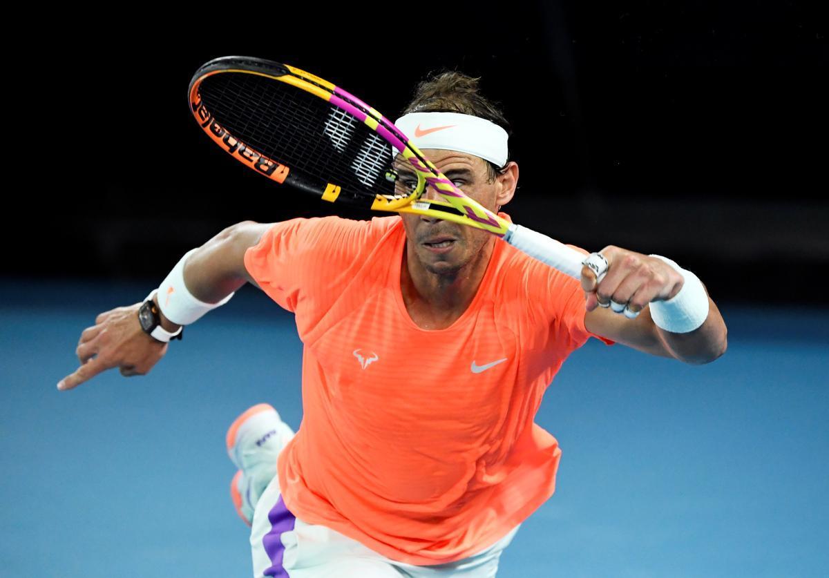 Rafael Nadal, en Australia.