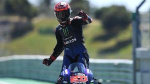 Quartararo gana el GP de Portugal de MotoGP y se coloca líder del mundial