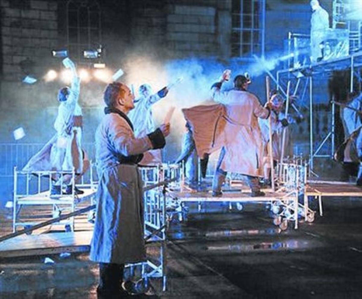 'The blind', aclamado montaje de la compañía polaca Teatr KTO.