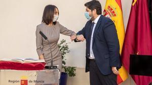 Los diputados de Ciudadanos asumen sus cargos en el Gobierno de Murcia