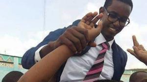 El ministro somalí Abbas Abdullahi sheik Suiraji.