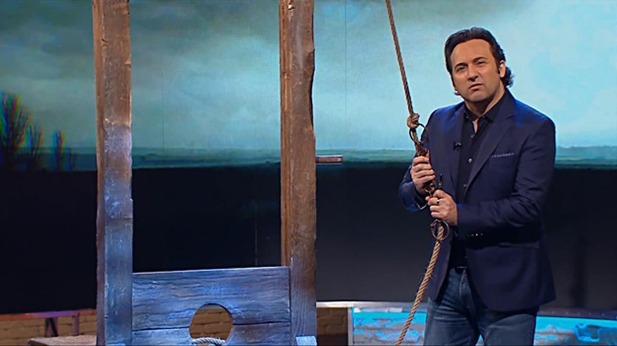 Iker Jiménez, presentador de 'Cuarto Milenio'