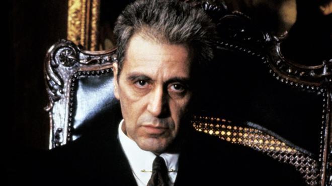 Al Pacino, en una imagen de 'El Padrino III'