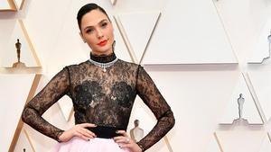 La actriz Gal Gadot, en la gala de los Oscar del 9 de febrero del año pasado, celebrada en Hollywood (California, EEUU).