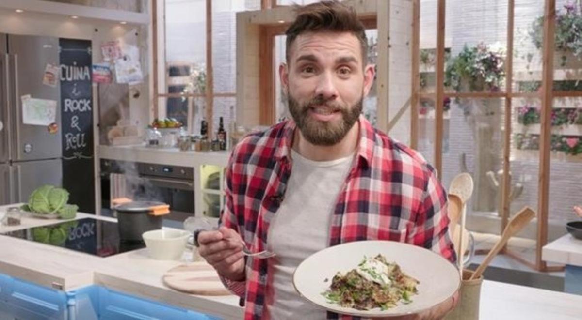 El chef Marc Ribas, presentador de 'Cuines' (TV-3).