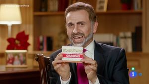 José Mota parodiando a Felipe VI (TVE-1).