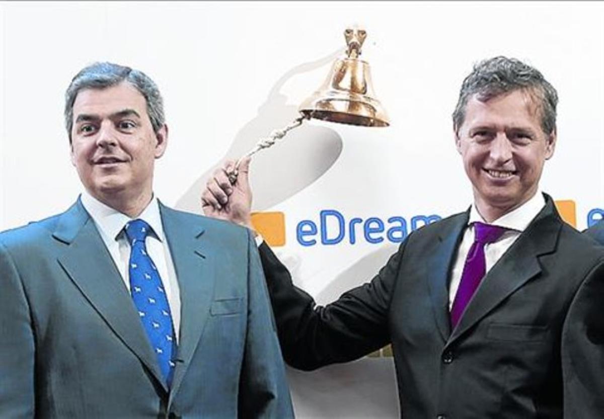 Debut bursátil 8 Perez-Tenessa (derecha), fundador de Edreams.