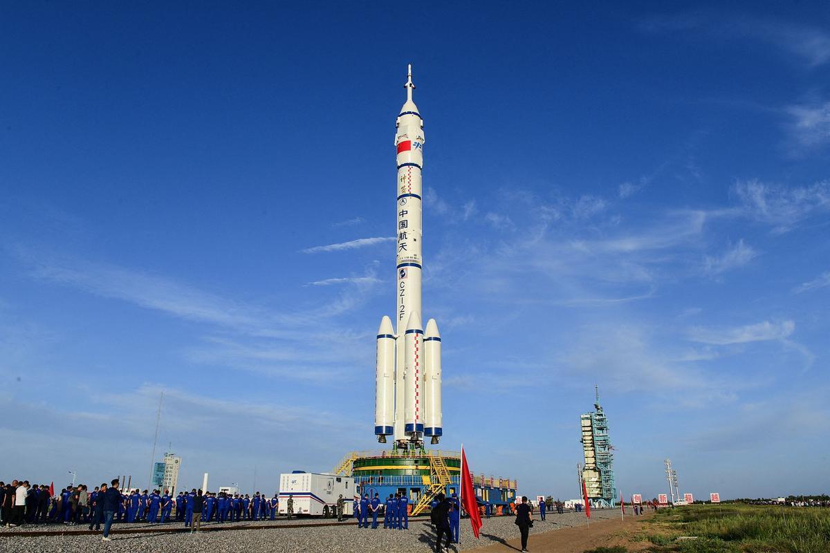 La Shenzhou 12.