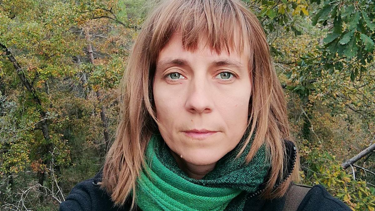 Selfi de Alice Monteil, una de las impulsoras del proyecto 'Planeta Barrio'.