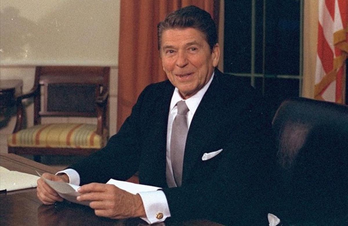 Ronald Reagan, presidente de EEUU entre 1981 y 1989.