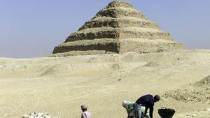 Los arqueólogos han realizado numerosos descubrimientos desde que empezaron los trabajos en la zona de Saqqara.