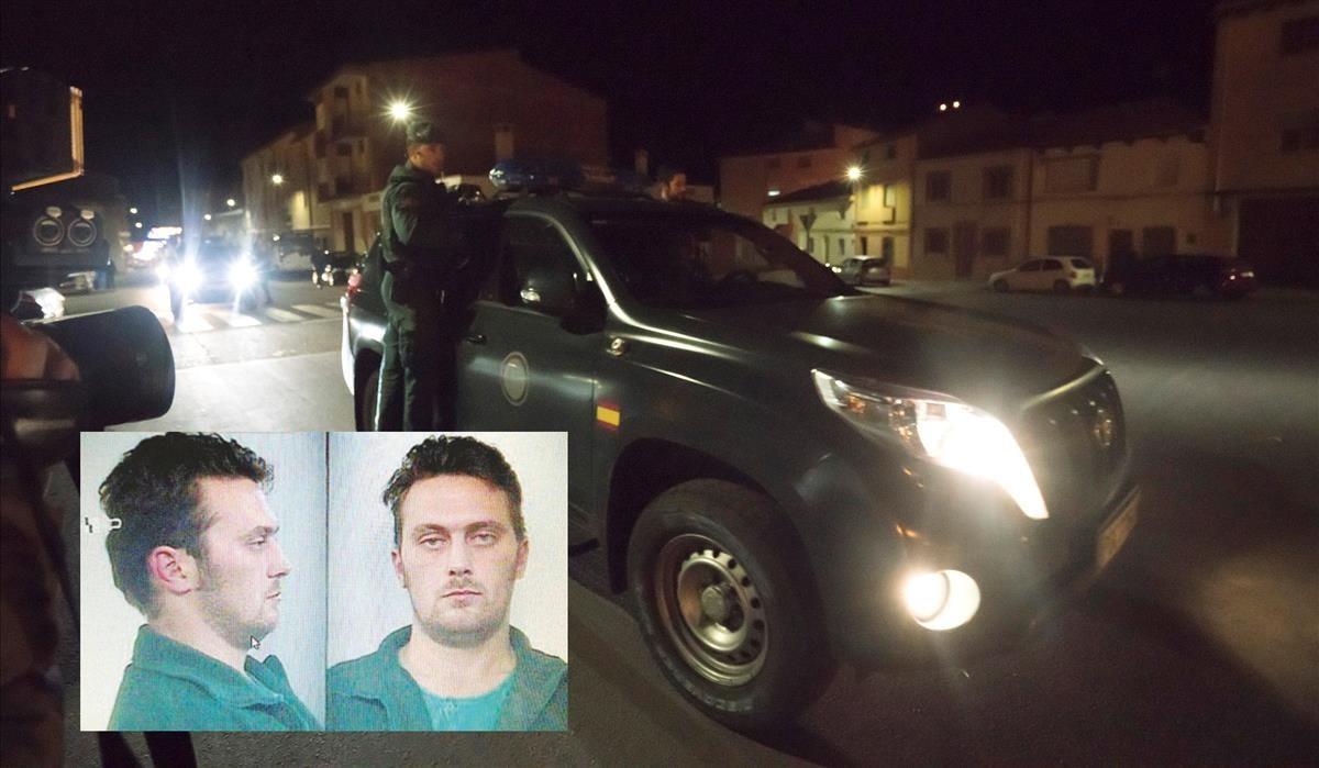 La Guardia Civil detuvo a Igor el Ruso tras desplegar un ámplio dispositivo.
