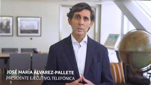 Jose Maria Alvarez-Pallete, presidente de Telefónica.