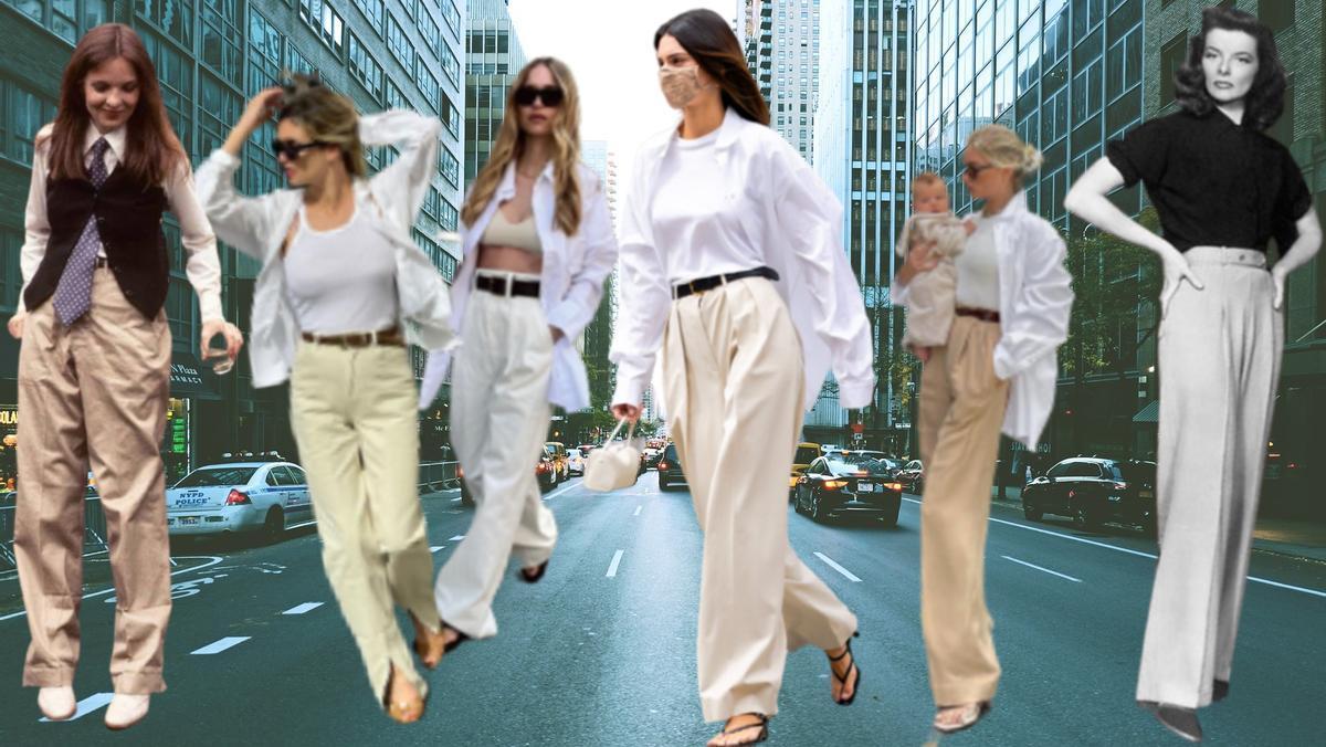 Kendall Jenner ha revitalizado el estilo 'Annie Hall' y sus clones ya han conquistado las calles con la vuelta a la oficina.