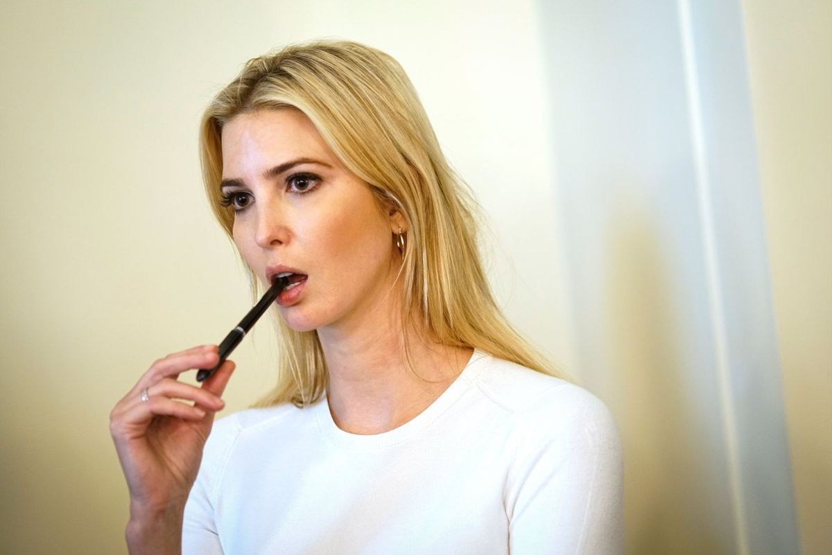 Senior advisor to the President Ivanka Trump is facing ethics questions after she was granted Chinese trademark approvals for her brands in the midst of a trade war her father is leading against BeijingIvanka Trump Marks LLC received preliminary approvalPhoto by Mandel NganAFP