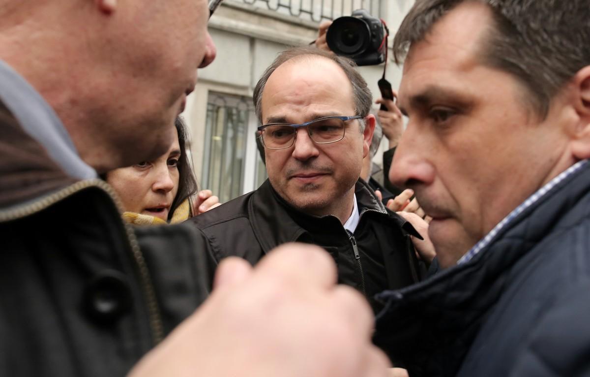 Proceso por rebelión y prisión sin fianza para la cúpula independentista