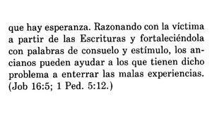Instrucciones de los Testigos de Jehová para tratar casos de abusos a menores.
