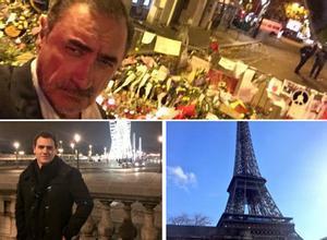 Indignació pels 'selfies' a París de Carlos Herrera i Albert Rivera