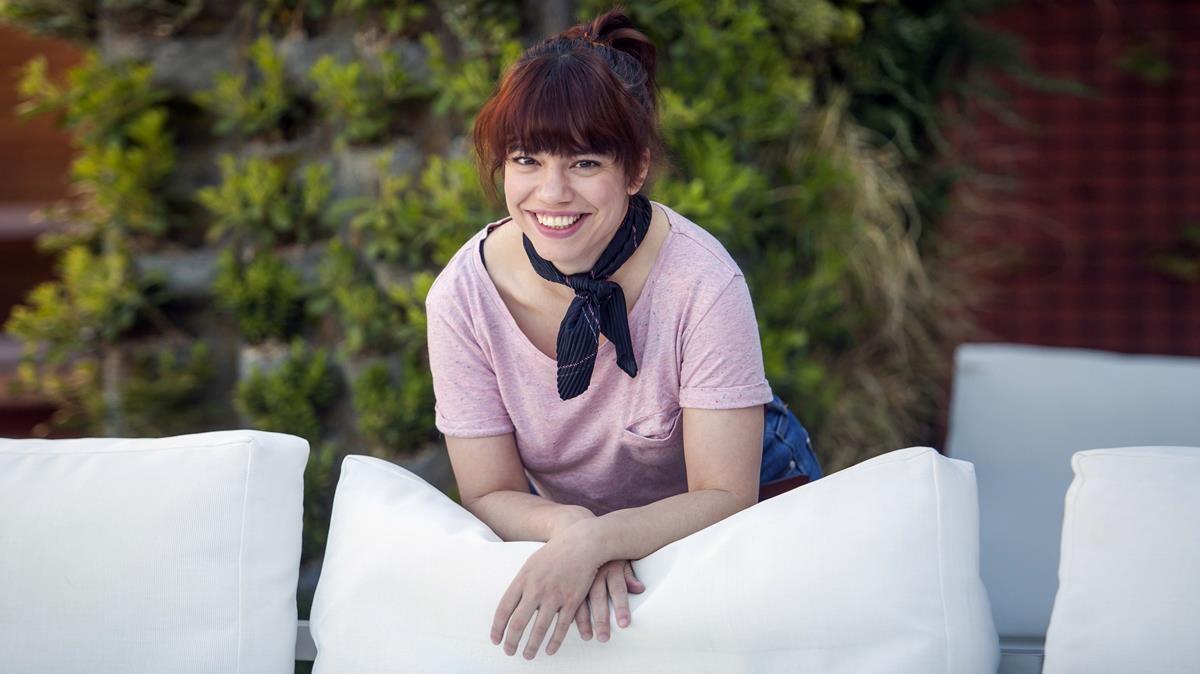 Elisa Victoria, en Barcelona.