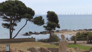 Así quedaría la Costa Brava con los parques eólicos proyectados, según los ecologistas