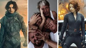 Imágenes de 'Dune', 'Otra ronda' y 'Viuda negra'