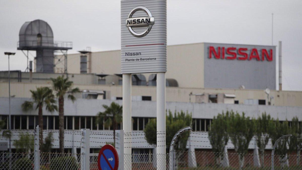 Factoría de Nissan en la Zona Franca.