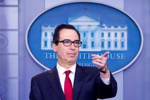 El secretario del Tesoro de los Estados Unidos, Steven Mnuchin. EFE