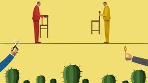 La delgada línea del diálogo