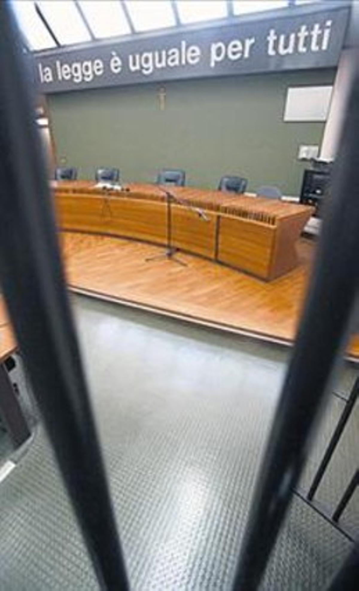 La sala de la apelación.