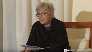 La traductora Anita Raja.