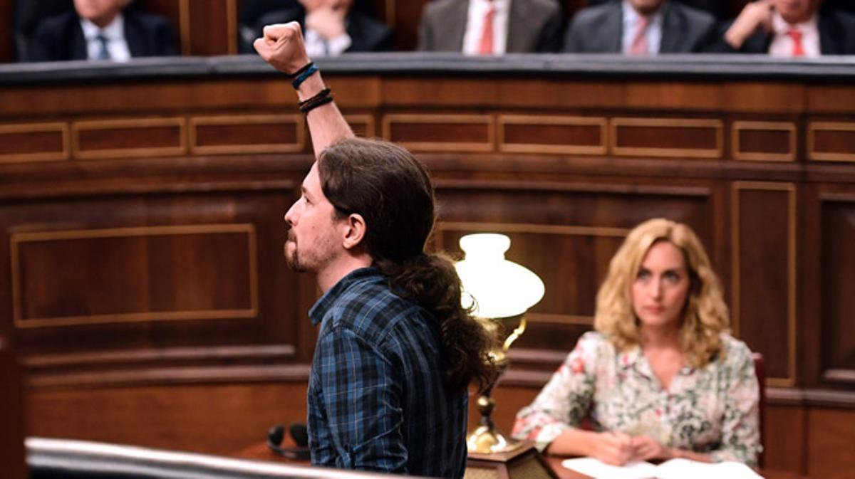 Pablo Iglesias: Bona sort en el seu epíleg senyor Mariano Rajoy.