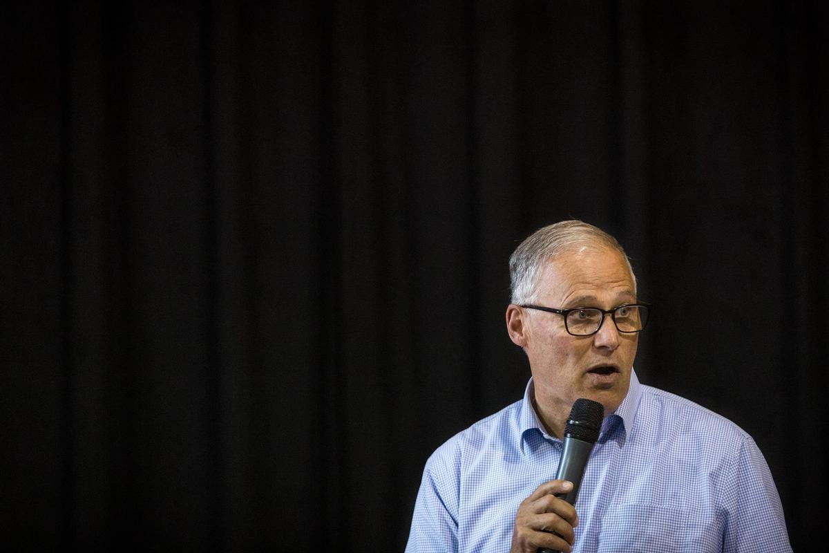 El gobernador demócrata del estado de Washington, Jay Inslee.